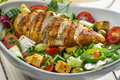 Close-up On A Salad With Chicken Stock Image - 28041271