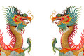 Colorful Dragons. Royalty Free Stock Photos - 28043698