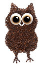 Coffee Owl Royalty Free Stock Image - 28044166