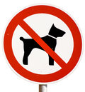 No Dogs Allowed Sign Stock Photo - 28048370