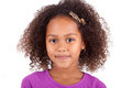 Cute Young African Asian Girl Stock Photos - 28051813
