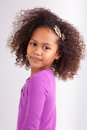 Cute Young African Asian Girl Stock Photos - 28051843