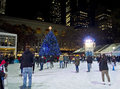 Bryant Park Christmas Royalty Free Stock Photo - 28053655