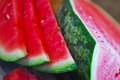 Sliced Watermelon Stock Images - 28054414