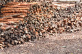 Pile Of Wood Logs Stock Photography - 28056322