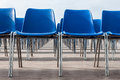 Blue Chairs Royalty Free Stock Photo - 28058745