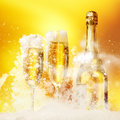 Champagne Glasses Royalty Free Stock Photo - 28058895