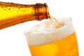 Beer Pouring Into Glass Royalty Free Stock Image - 28063476
