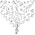 Musical Background Music Stock Image - 28073271