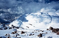 Mountains Covered Snow Stock Images - 28083834