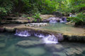 Erawan Waterfall In Thailand Royalty Free Stock Image - 28083966