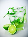 Cold Mojito Drink Royalty Free Stock Images - 28084349
