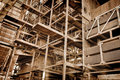 Metal Construction - Abandoned Industrial Area Royalty Free Stock Image - 28090076