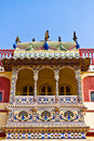 Art Work Balcony In Palace Stock Photography - 28095312