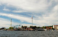 Stockholm. The Roller Coasters Royalty Free Stock Photography - 28096137