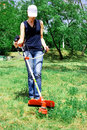 Cutting Grass Stock Photography - 2817112