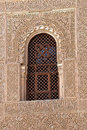 Spanish Window Alhambra Granada Spain Royalty Free Stock Image - 28101206