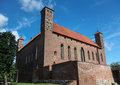 Old Medieval Castle In Lidzbark Warminski Castle Stock Photography - 28103022