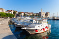 Fishing Boats In The Port Stock Images - 28103824