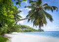 White Coral Beach Sand And Azure Indian Ocean. Royalty Free Stock Images - 28109359