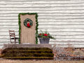 Rocking Chair On Porch Royalty Free Stock Image - 28112536