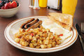 Breakfast At The Diner Royalty Free Stock Images - 28115779
