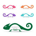 The Design Of The Chameleon Royalty Free Stock Photo - 28118595