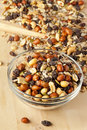 All Natural Homemade Trail Mix Royalty Free Stock Photography - 28131397