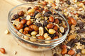 All Natural Homemade Trail Mix Royalty Free Stock Photography - 28131427