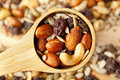 All Natural Homemade Trail Mix Royalty Free Stock Photography - 28131567