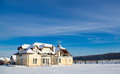 Private House In Winter Royalty Free Stock Photo - 28138285