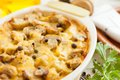 Vegetables Pie With Mushrooms, Potatoes And Cheese Royalty Free Stock Photography - 28139307