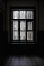 Old Window On A Landing Royalty Free Stock Image - 28144926