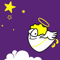 Flying Angel Stock Images - 28147774