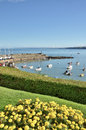 View Of New Quay Harbour, Cardigan Bay. Stock Photos - 28153393