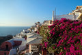Sunset Santorini Island. Stock Photos - 28154733