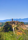Panoramic View Of Civita Di Bagnoregio. Lazio. Italy. Royalty Free Stock Image - 28160186