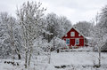 Swedish Winter Contrasts Royalty Free Stock Images - 28162899