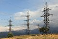 High-tension Lines Of The Issues Royalty Free Stock Photo - 28169145