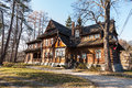 Old And Well-known House In Zakopane Stock Image - 28171641