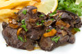 Fried Chicken Liver Stock Images - 28177324