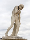 Crying Statue Stock Photo - 28181530