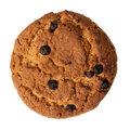 Cookie With Chocolate Pieces Royalty Free Stock Photos - 28187428
