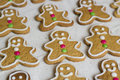 Gingerbread Men Royalty Free Stock Photo - 28190185