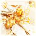 Christmas Table Decoration Royalty Free Stock Image - 28193646