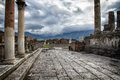 Ruins Of Pompeii Italy Royalty Free Stock Images - 28205249
