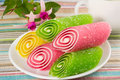 Candy On A Plate Royalty Free Stock Image - 28206666
