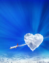 Arrow Of The Cupid Royalty Free Stock Image - 28207736