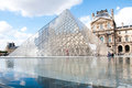 Louvre Pyramid Stock Photo - 28213100
