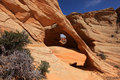 Melody Arch - Coyote Buttes North Stock Photos - 28238623
